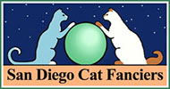 San Diego Cat Fanciers Logo